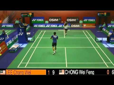 R16 - MS - LEE Chong Wei vs CHONG Wei Feng - 2013 Hong Kong Open