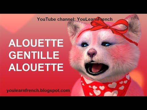 ALOUETTE GENTILLE ALOUETTE Comptines Chanss pour enfants French sgs for kids English subtitles