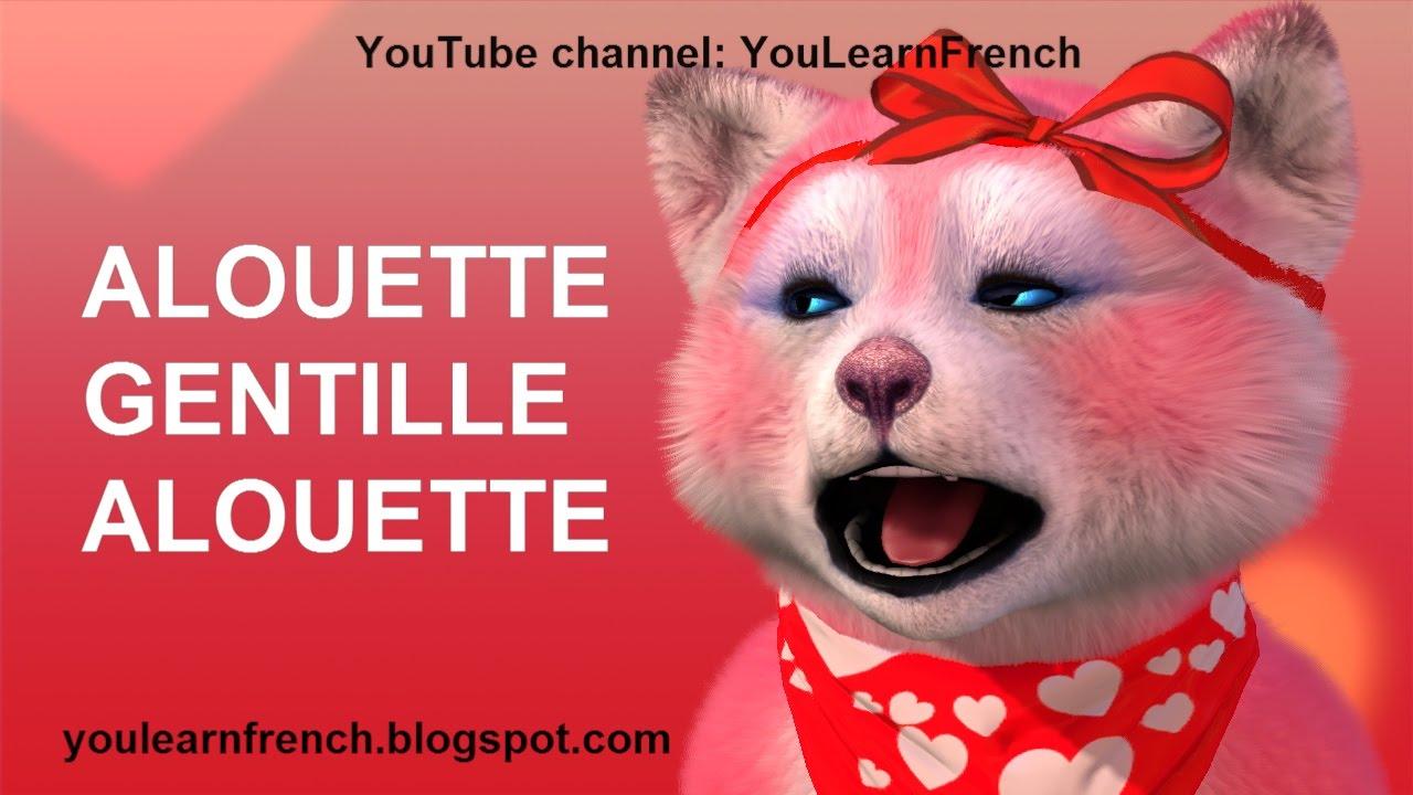 Alouette Gentille Alouette Comptines Chansons Pour Enfants French