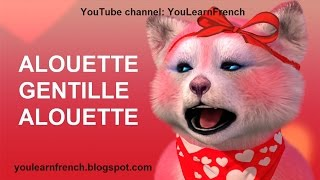 ALOUETTE GENTILLE ALOUETTE Comptines Chansons pour enfants French songs for kids English subtitles