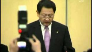Dailymotion   Toyota CEO Holds News Conference in Beijing   a News   Politics video