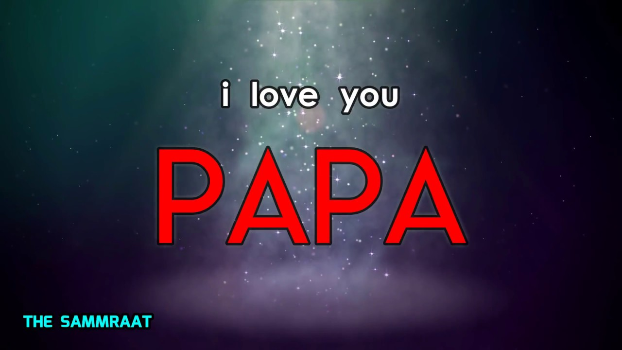 HUM UNHE PAPA KEHTE HAIN || HAPPY FATHER'S DAY || HINDI POETRY || THE SAMMRAAT