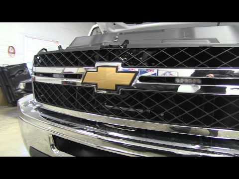 Chevrolet Silverado 2500HD Crew Cab Install for Marine Patrol Boat Towing