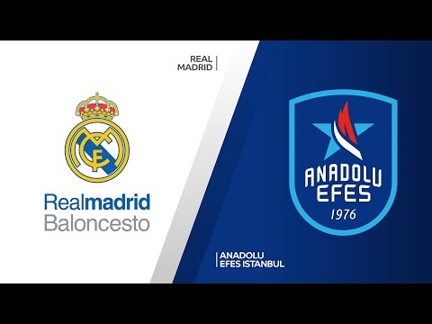 Real Madrid - Anadolu Efes Istanbul Highlights |Turkish Airlines EuroLeague, RS Round 32