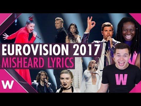 Eurovision 2017: Misheard lyrics | wiwibloggs