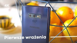 Samsung Galaxy Note 9 + Galaxy Watch - Pierwsze wrażenia Prezentacja