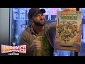 Zack Ryder gets a first look at NECA's exclusive San Diego Comic-Con 2017 Ninja Turtles action fig..
