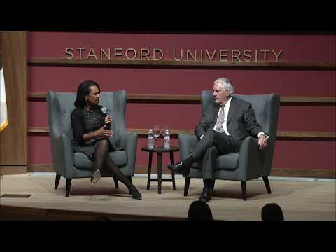 Former Secretary of State Rice Interviews Secretary Tillerson