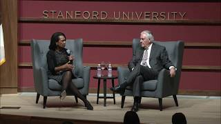 Former Secretary of State Rice Interviews Secretary Tillerson