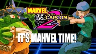IT'S MAHVEL TIME: Marvel Vs. Capcom 2 PS3 - Online Matches