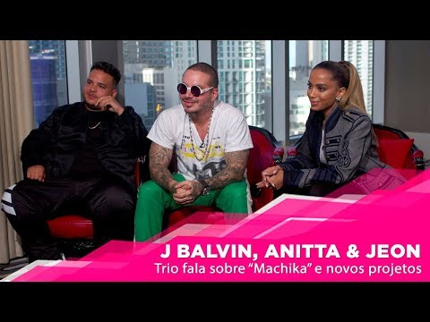 J Balvin Anitta e Jeon na Copa? Turnê conjunta? Rivalidade no mercado? - POPline Entrevista