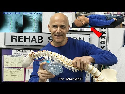 Water Bottle Neck Exercise to Restore Healthy Neck Curve – Dr Alan Mandell, DC