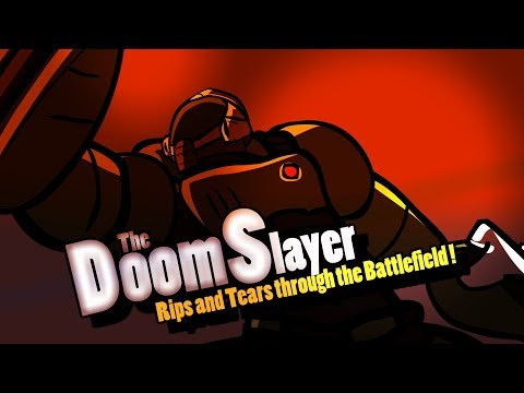 Super Smash Bros.  Ultimate - Doom Slayer Reveal Trailer (Fan Animation) thumbnail
