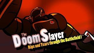 Super Smash Bros.  Ultimate - Doom Slayer Reveal Trailer (Fan Animation)