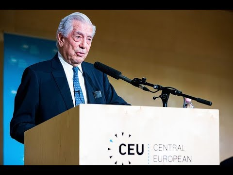 Mario Vargas Llosa Speaks at Academic Freedom - The Global Challenge Conference at CEU