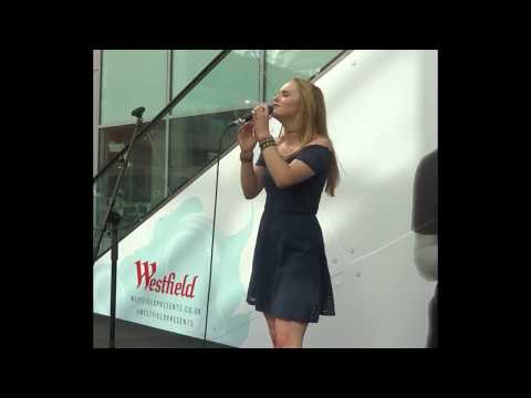 With Or Without You LIVE - U2 Cover - Matilda Pratt