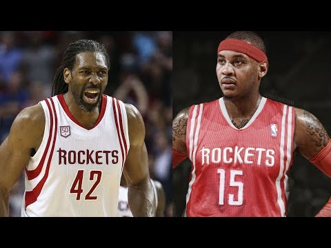 Carmelo Anthony Being RECRUITED to the Rockets by Former Teammate Nene