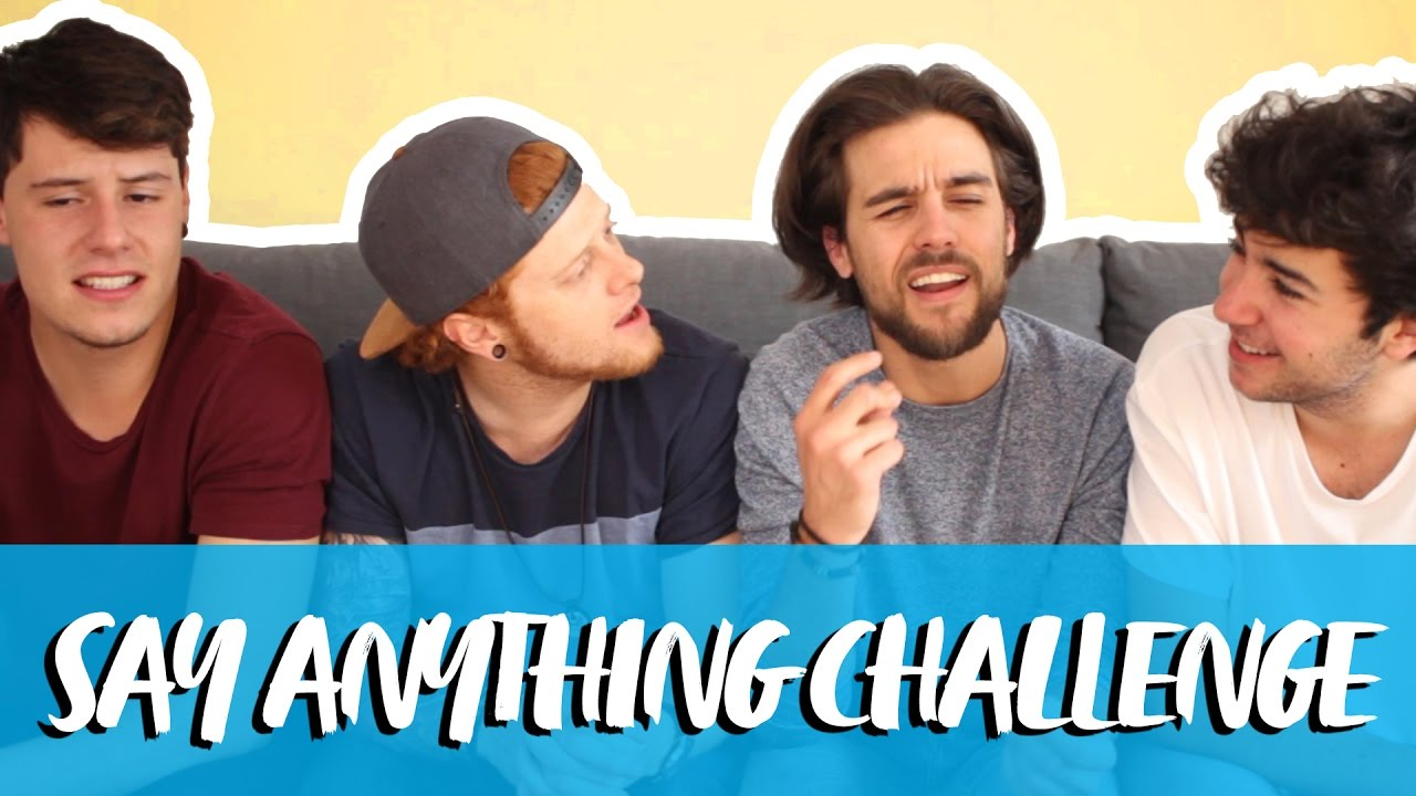 SAY ANYTHING CHALLENGE | Con Stoneismynamee, Mickeyprojects y Curricé