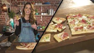 Mozzarella, Jalapeño & Prosciutto Pizza  Megan Mitchell