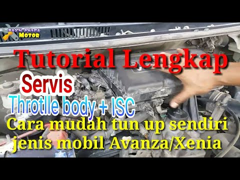 Cara mudah tune up/servis mesin EFI Avanza Xenia agar mesin kembali bertenaga seperti mobil baru