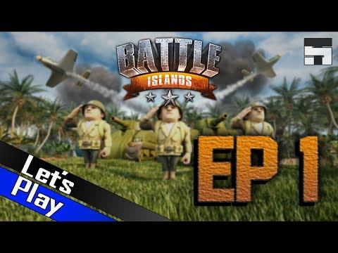 SEA TRUCKS & GOLD | Let's Play! Battle Islands - EP. 1