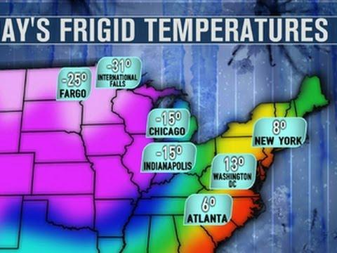 Polar vortex brings record low temperatures