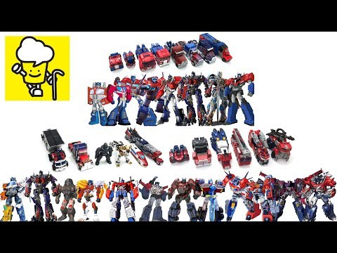 Optimus Prime Transformer Robot Truck Toys Collection ランスフォーマー 變形金剛 Movie Robots In Disguise
