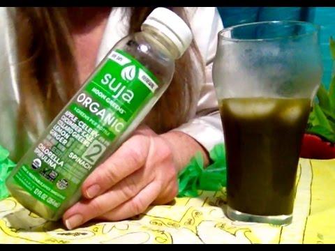Suja Beverage Review & Info, Organic, Non GMO, Cold Pressured Juice Smoothie, Soft Spoken, ASMR