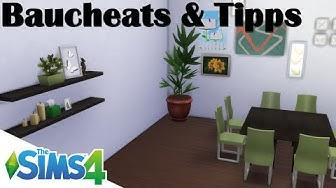 Sims 4 Tutorial - Cheats & Tipps zum Bauen/Einrichten [ausführlich]