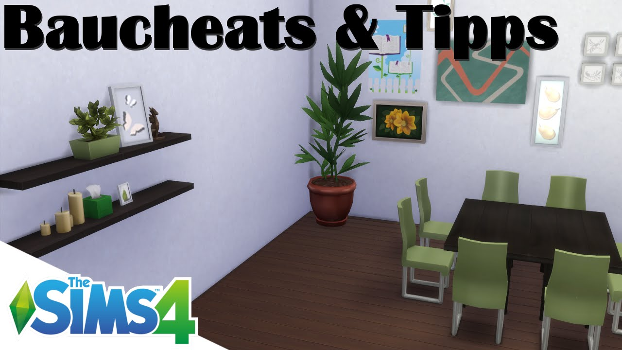 sims 4 tutorial cheats tipps zum bauen einrichten doovi. Black Bedroom Furniture Sets. Home Design Ideas