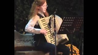 Du schwarzer Zigeuner/ Akkordeon live