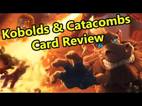 New Hearthstone Expansion: Kobolds and Catacombs Fun/Gimmick Card Review