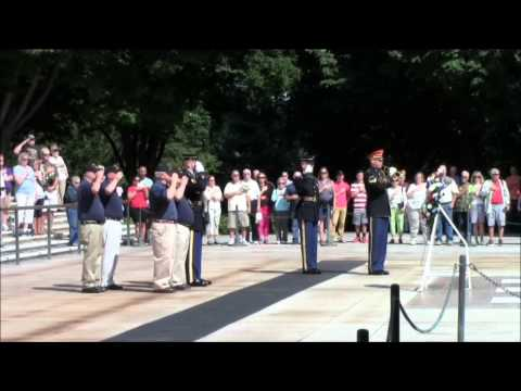 CHARLIE BATTERY 1/13, 5th Marine Division 1966-67 *2014 AD REUNION* WREATH LAYING CEREMONY