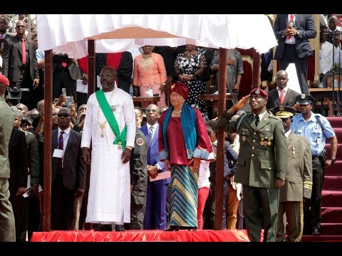 INAUGURATION CEREMONY OF PRESIDENT GEORGE  MANNAH WEAH  MONDAY, JANUARY 22, 2017