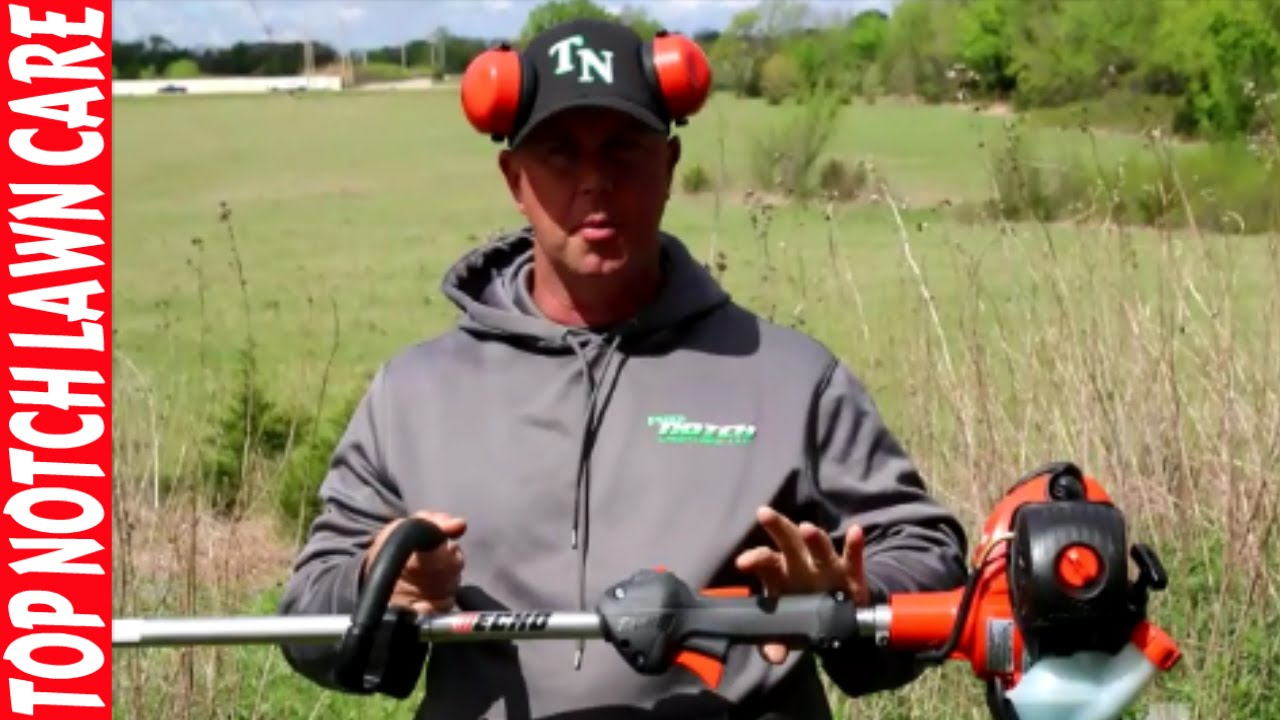 Echo Srm 266t String Trimmer Review Lawn Care Equipment