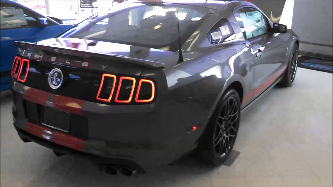 2014 Ford Mustang Shelby Gt500 Youtube