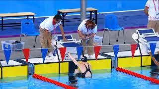 Leslie Cichocki Wins Bronze In S14 100m Backstroke | Parapan American Games Lima 2019
