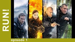 run! Episode 1. The Best Action Movie! Russian Films. StarMediaEN