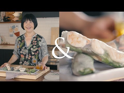 how-to-make-perfect-rice-paper-rolls-at-home-|-f&w-cooks