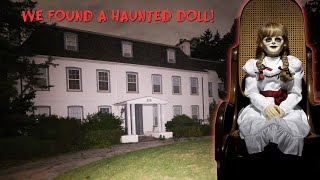WE FOUND A HAUΝTED DOLL IN THE HAUNTED WHITE HOUSE MANSION