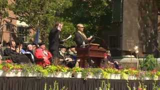 SpongeBob and Patrick serenade UVM graduates