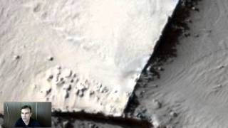 Ancient Walls Discovered On Mars In NASA Photo, June 2014, UFO Sighting News.