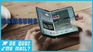 Un smartphone pliable bientôt chez Samsung ? DQJMM (1/2)