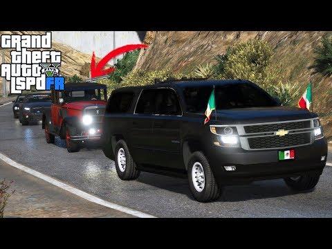 GTA 5|LSPDRF #223|SERVICIO SECRETO de MÉXICO - TRANSPORTANDO A MICHEL|EdgarFtw thumbnail