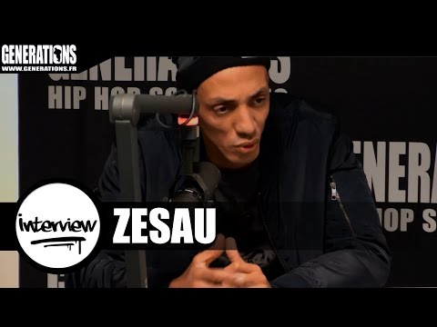 Youtube: Zesau – Interview #20ZO (Live des studios de Generations)