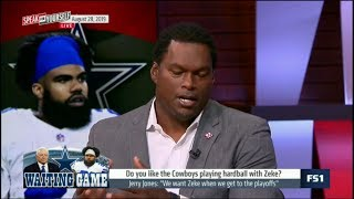 """SPEAK for YOURSELF   LaVar Arrington on: Jerry Jones: """"We want Zeke when we get to the playoff"""""""