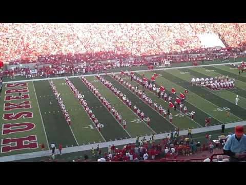 Cornhusker Marching Band Pre Game Part 1