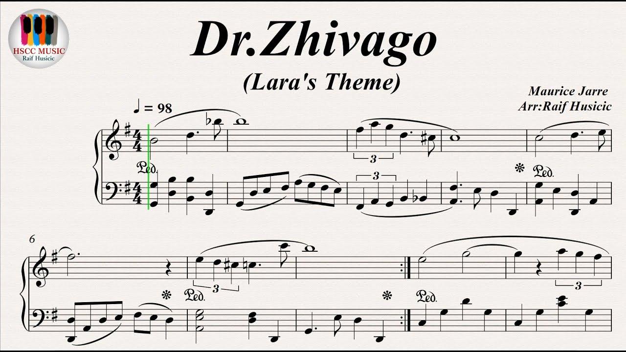 Dr  Zhivago (Lara's Theme), Somewhere My Love, Piano