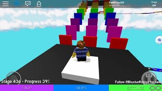 Roblox: 1140 Stage Obby!! Stages 429-481 [I will do 1-428 later]