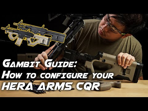 Gambit's Guide: How To Configure Your HERA ARMS CQR – RedWolf TV